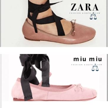 Zara vs Miu Miu - clones